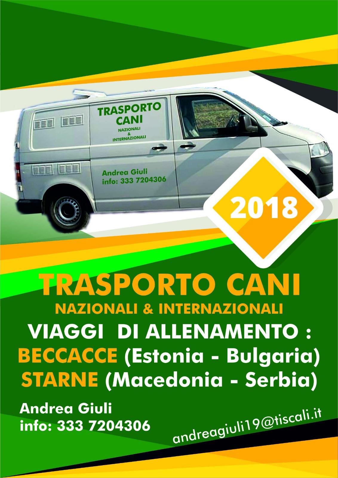 Trasporto Cani Andrea Giuli