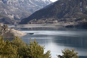 Lago di Embrum. Francia